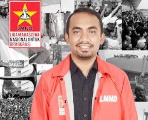 Tak Puas Dengan Stegmen Achmad Hatari, Waketum I LMND Menentang Dengan Debat Terbuka UU Ciptaker