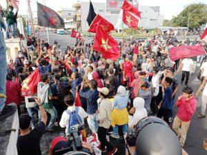 Front Maluku Utara Bergerak Terus Berlanjut Lakukan Unjuk Rasa Jilid III Penolakan UU Omnibus Law