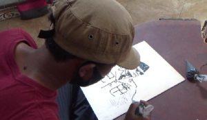 Sulap Abu Jerami Jadi Lukisan, Seorang Pemuda di Lumajang Hasilkan Jutaan Rupiah di Tengah Pandemi Dengan