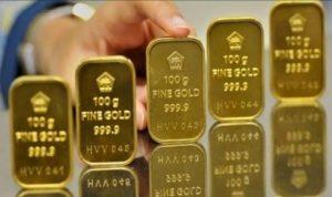 Harga Emas Hari Ini Menurun, Emas Antam Masih Berada Dibawah Rp 1 Juta