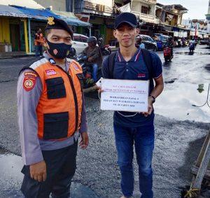 Operasi Yustisi, Polda Malut Tindak Ribuan Pelanggar Prokes