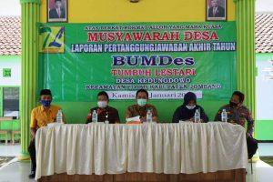 Wakil Bupati Sumrambah : Bumdes Masyarakat Utara Brantas Harus Siap Maju