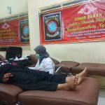 Setia Hati Winongo Mojokerto Donorkan Darahnya Saat Pasokan Darah Menurun