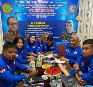 Ketua PD SPSI Malut, Ike Masita Tunas, Akan Bentuk Pengurus Tingkat Kabupaten/Kota di Maluku Utara