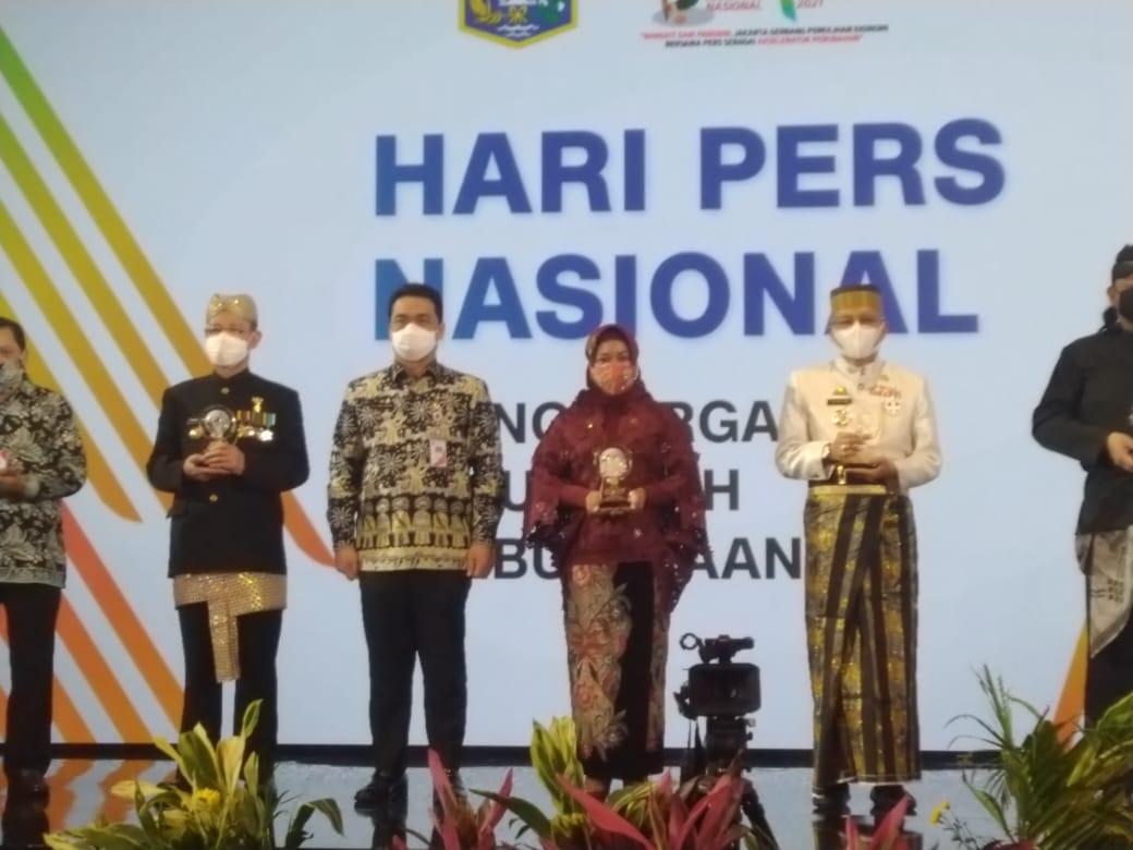 puncak Peringatan Hari Pers Nasional (HPN) 2021