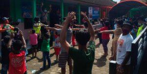 Pengungsi Bencana Tanah Longsor di Nganjuk Mendapat Trauma Healing