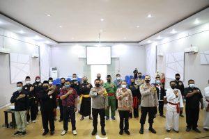 PSHW Mojokerto Dukung Penuh Deklarasi Damai Perguruan Silat Di Bumi Majapahit
