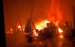 Video Detik Detik PT Guna Maju Abadi Terbakar