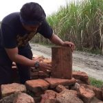 Runtuhan Struktur Bangunan Kuno Di Kemlagi Diduga Ada Keterkaitan Dengan Kerajaan Majapahit
