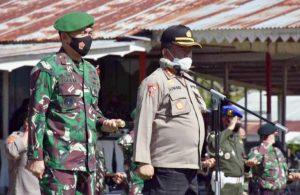 TNI-Polri Siap Amankan Kunjungan Kerja Presiden RI Di Maluku Utara