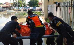 Mayat Di Sungai Jagir Surabaya Diduga Pelaku Jambret
