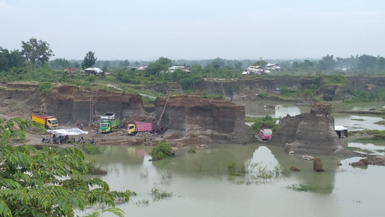 Galian C Ilegal Menjamur Komisi III DPRD Kabupaten Mojokerto Desak Satpol PP Bertindak