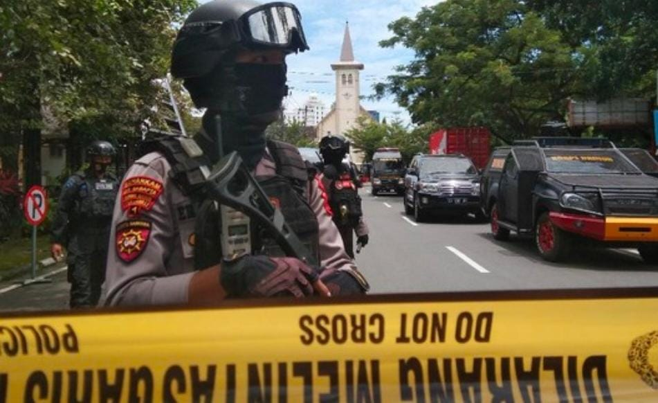 Stop Sebar Dokumentasi Peristiwa Bom Bunuh Diri di Gereja Katedral Makasar