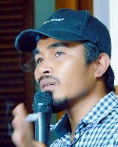 LMND Tolak Kedatangan Presiden RI di Maluku Utara