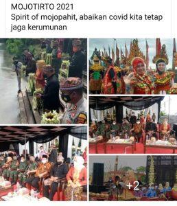 Mojotirto Spirit Of Majapahit Kota Mojokerto Jaga Kerumunan Abaikan Jaga Jarak
