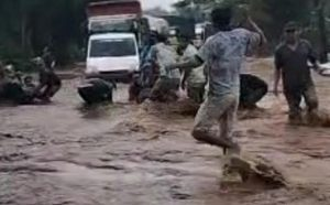 Sungai Kedung Galeng Meluap 4 Desa di Probolinggo Terendam Banjir