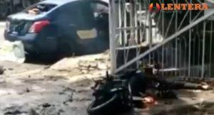 Video Detik Detik Bom Bunuh Diri di Makasar