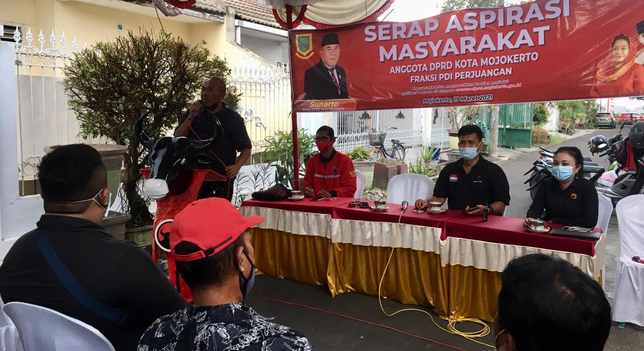 Reses Ketua DPRD Kota Mojokerto Fokuskan Pada Lima Pokok Pikiran