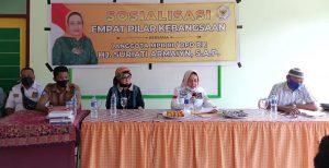 Perkuat Jiwa Kebangsaan, Anggota DPD RI Dapil Malut Hj. Suriati Armaiyn Fokuskan Sosialisasi 4 Pilar Di Tingkatan Pendidikan