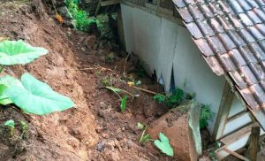 Tanah longsor Di Trenggalek Terjadi Setelah Diguyur Hujan