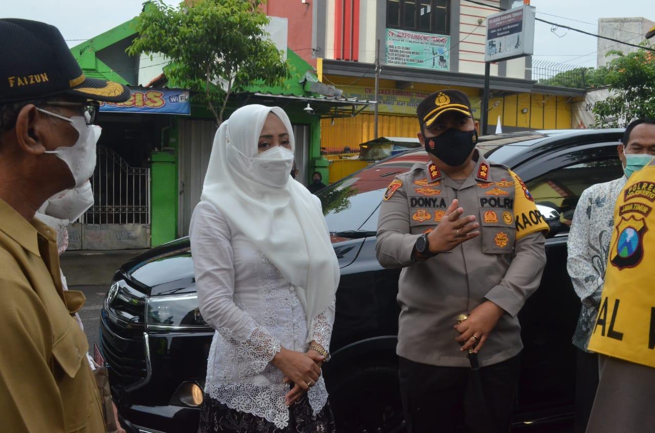 Bupati Mojokerto Pantau Gereja Pastikan Keamananya
