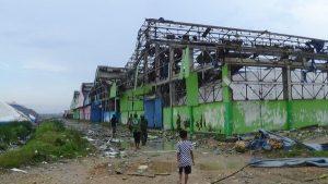 Puting Beliung di Sumenep Rusak Bangunan
