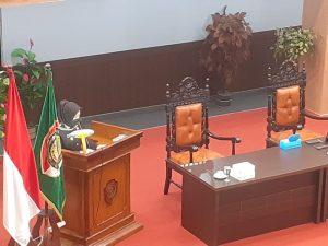 Bupati Mojokerto, Ikfina Rahmawati Beri Catatan Penting 3 Raperda Usulan