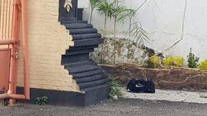 Sebuah Tas Mencurigakan Ditemukan Di Area Kantor DPRD Kota Kediri