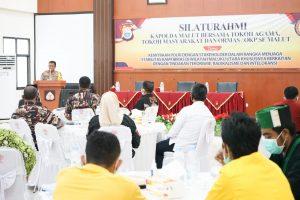 Polda Malut Gandeng Tokoh Dan Stakeholder Cegah Terorisme