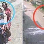 Emak Emak Curi Motor di Mojokerto Sambil Gendong Balita Viral