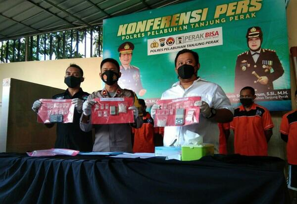 Pesta Sabu, Oknum Wartawan di Surabaya Diamankan Polisi