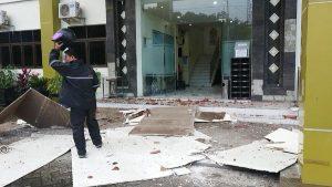 Puluhan Bangunan di Pasuruan Rusak Akibat Gempa Malang
