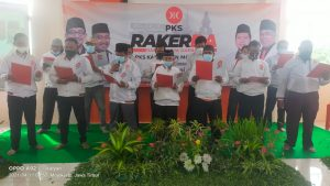 Rakerda DPD PKS Kabupaten Mojokerto Paparkan Strategi Transformasi Organisasi dan Sekolah Etik