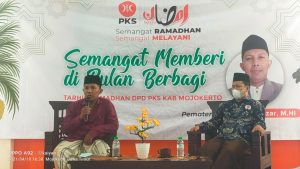 Sambut Datangnya Ramadhan DPD PKS Kab Mojokerto Gelar Tahrib Ramadhan