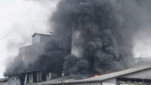 Terungkap Kebakaran Pabrik Tepung PT Agrofood Makmur Mandiri Akibat Meledaknya Mesin Oven