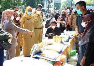 Walikota Mojokerto Sidak Pasar Pastikan Harga Pangan Stabil Selama Ramadan