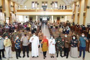 Walikota Mojokerto Pastikan Peringatan Paskah Aman