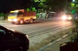 Balapan Liar Pakai Truk di Jalan Raya, Dua Colt Diesel Diamankan