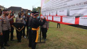 Perguruan Silat Bentrok Lagi, Polresta Mojokerto Bikin Deklarasi Damai Ulang