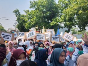 Mei day 2021, FSPMI Siapakan Seribu Buruh Akan Padati Kantor Gubernur Jatim