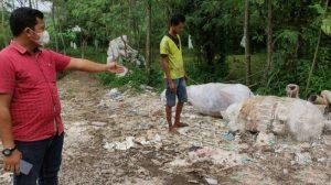 Polres Mojokerto Tak Serius Tangani Kasus Pembuangan Limbah B3 Ilegal Di Ngoro
