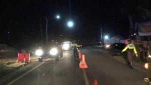 Selain Berjaga di Dua Pos Penyekatan, Petugas Juga Awasi Jalur Tikus di Trenggalek