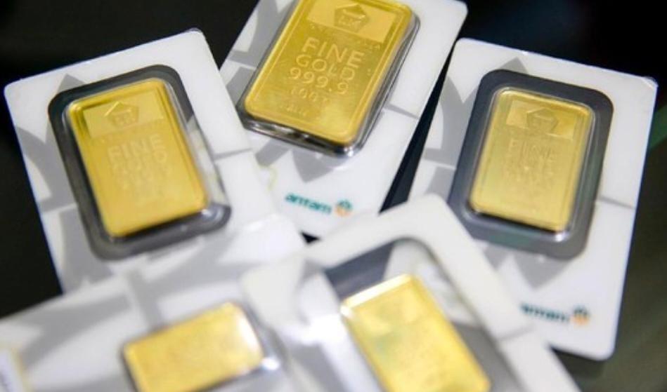 Emas Antam Naik Tipis Hari Ini Rp 960.000 Per Gram