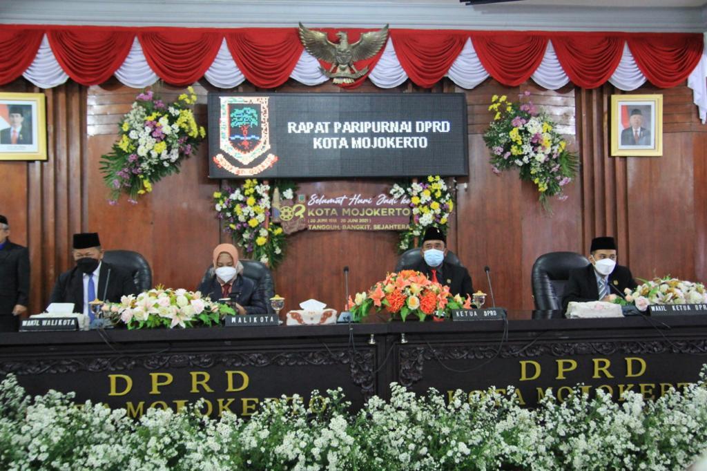 Hari Jadi Kota Mojokerto ke-103 DPRD Kota Mojokerto Berharap Selalu Membuat Kebijakan Yang Bermanfaat Bagi Masyarakat