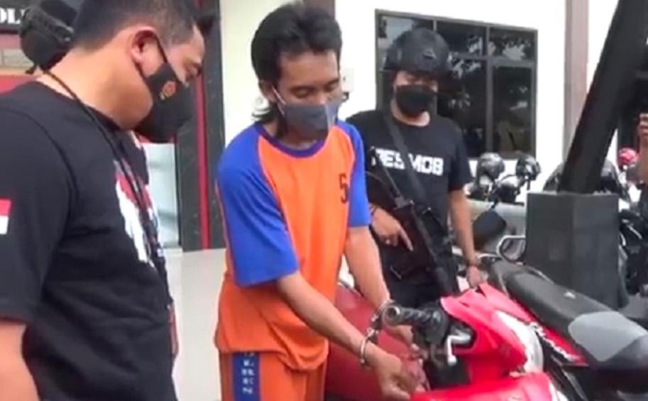 Belajar Dari Youtube Pemuda Di jombang Berhasil Gasak 12 Motor