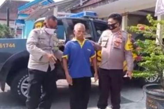 Nekat Mencongkel Mesin ATM, Kakek Kakek Diglandang Polisi