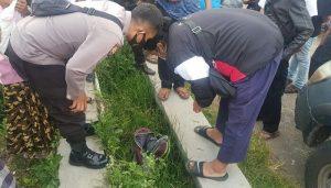 Penemuan Mayat Bayi Dalam Tas Ransel di Selokan, Gegerkan Warga