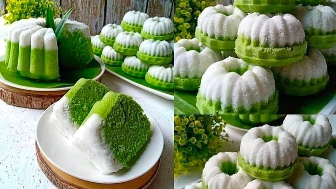 Resep Kue Putu Ayu Pandan Istimewa