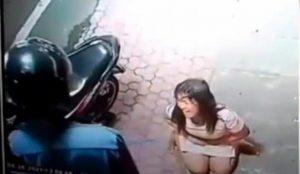 Video Perempuan Dipukuli Hingga Ditendang Perutnya Viral