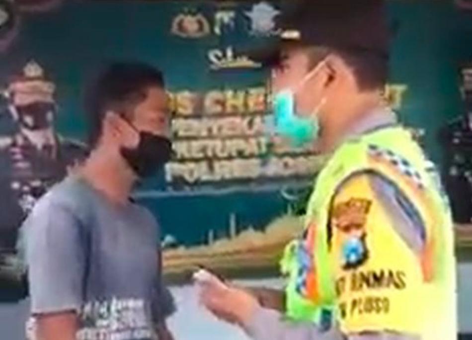 Video Polisi di Jombang Lakukan Pungli, Beredar di Medsos